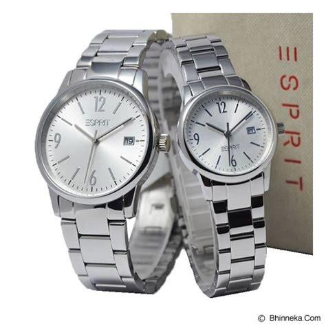 Jam Tangan Esprit Tp09 Silver 3 jual esprit jam tangan es100s61007 es100s62007 silver murah bhinneka