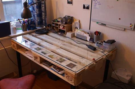 diy desks diy desk built with palette