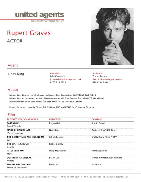 actor cv template cv acting cv template