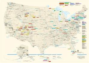 Map Of Usa National Parks by 301 Moved Permanently