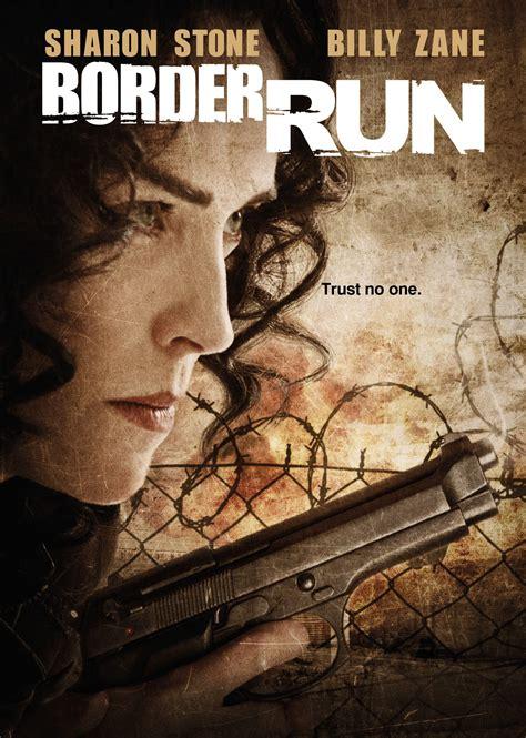 K Fed Running For The Border by Border Run Poster