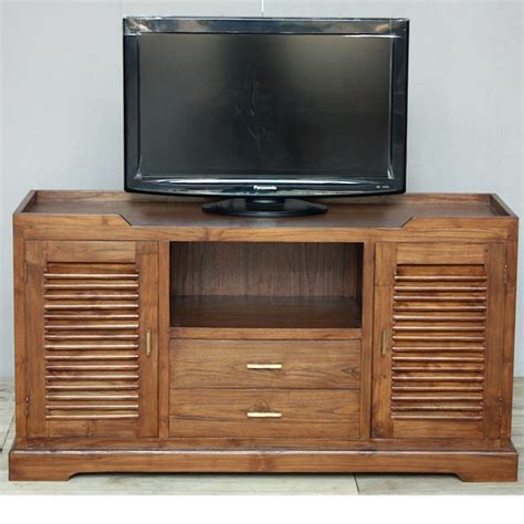 Meuble Tv Colonial by Meuble Tv Style Colonial Homeezy