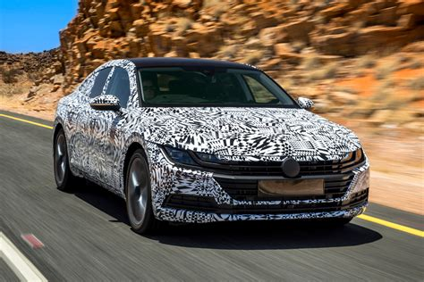 new volkswagen arteon new volkswagen arteon prototype review pictures auto