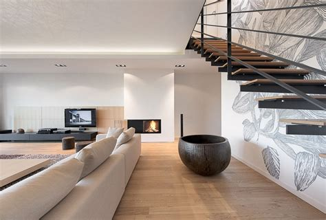 Interior Stairs Design In Duplex Apartments Interior Of A Duplex Apartment Interiorzine