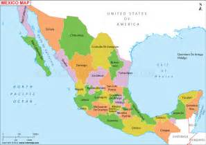 Mexican States Map by Idg Connect Mexico State Intervention Amp The End Of The