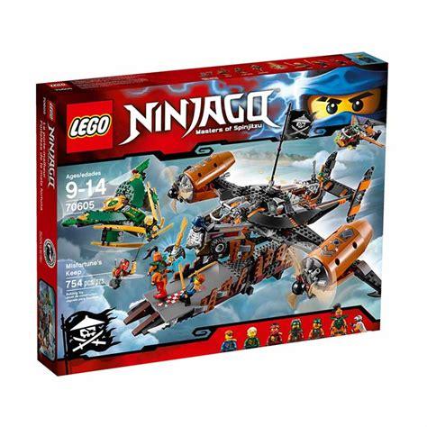 Kaos Anak Lego Ninjago 02 Terbatas jual lego ninjago 70605 misfortune s keep mainan blok