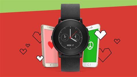 Jam Pintar Pabble From Usa jam tangan android bulat jam simbok