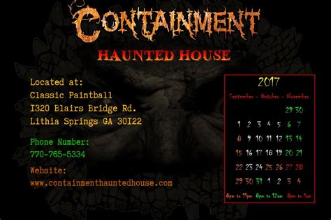containment haunted house containment haunted house house plan 2017
