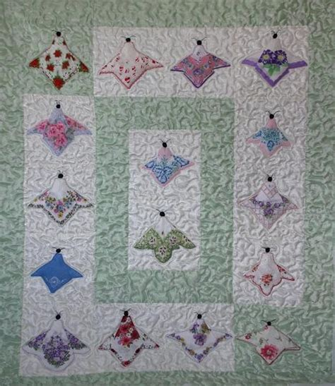 quilt pattern using handkerchiefs 353 best images about hankie ideas on pinterest vintage