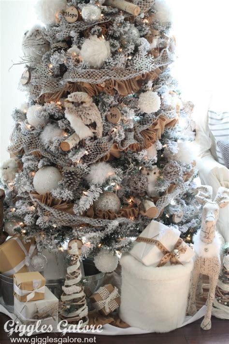 winter woodland christmas tree michaels dream tree