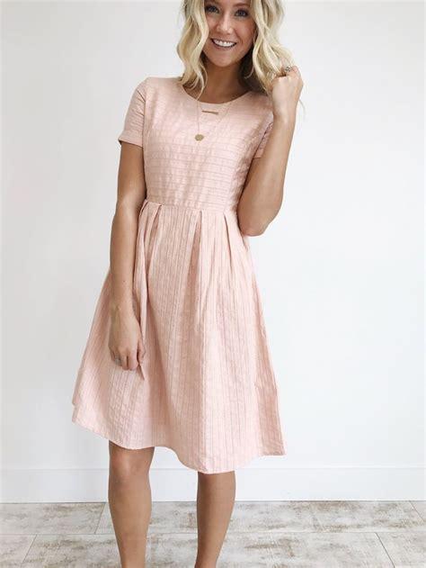 blush color dresses best 25 pink dress casual ideas on pink smart