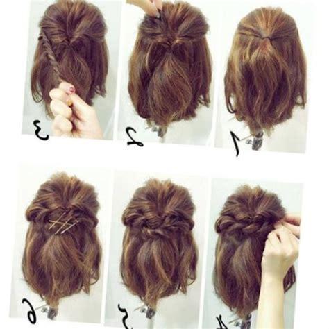 Coiffure Cheveux Courts Facile by Coiffure Classe Et Facile Cheveux Mi