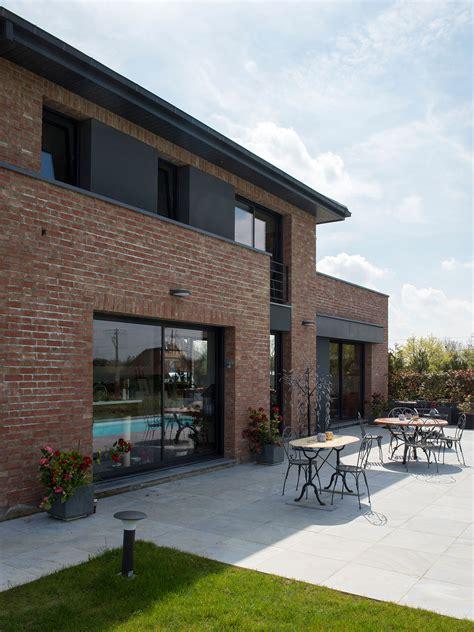 Merveilleux Entree De Jardin Moderne #3: POUWELS_HAB_terrasse_maison_semi-cubique_briques.jpg