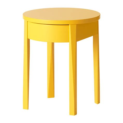 Yellow Side Table Ikea Stockholm Bedside Table Ikea