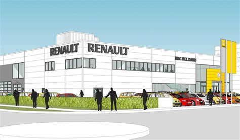 renault ireland renault ireland car showroom morgan architects