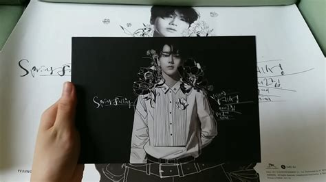 Yesung 2nd Mini Album Fall Limited yesung예성 2nd mini album falling normal limited edition unboxing