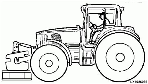 coloring pages of john deere tractors john deere tractor coloring pages coloring home