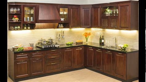 Kitchen Design L Shape by Modular Kitchen Design India 2015 Youtube