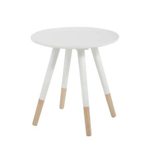 table basse vintage blanche table basse vintage ronde blanche d 40 cm dekale maisons
