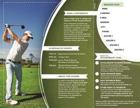 golf tournament brochure golf tournament brochure ben pingel portfolio