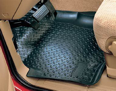 using factory floor mats on top of hushy liners best car accessories amazing husky liners classic style
