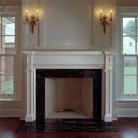 Kitchen Remodeling Designs by Fireplace Surrounds Traditional Fireplace Mantels