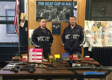 Nypd Warrant Search Cops In Recover Arsenal Of Weapons Breaking911