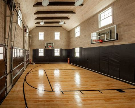 basketball courts with lights stunning indoor home basketball court pictures