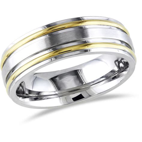 s band ring in stainless steel walmart