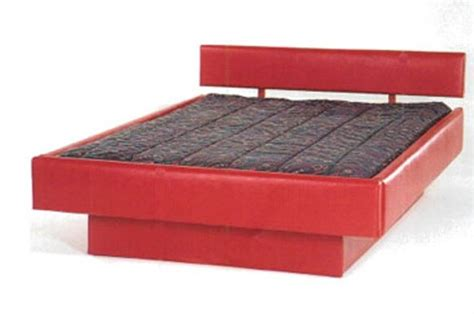 waterbed fabric 5 board complete hb fr deck ped q pine waterbeds frames pine waterbeds