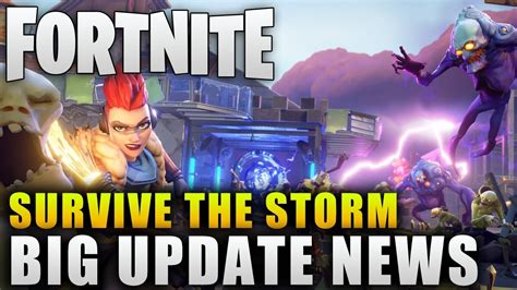 fortnite news fortnite news quot survive the update info quot fortnite