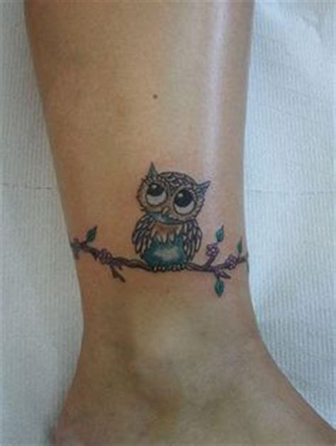 flower owl tattoo cute girly tattos pinterest ferns