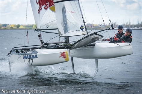 catamaran nacra nacra 17 foiling sailboat specifications and details on