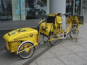 Elektro Motorrad Post by Deutsche Post Handelsmarke Deutsche Post