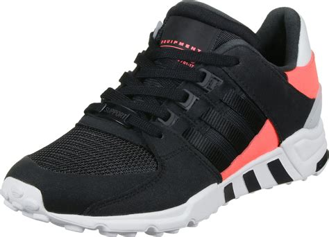 adidas eqt support rf shoes black neon