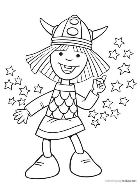 printable viking images free coloring pages of wicky the viking