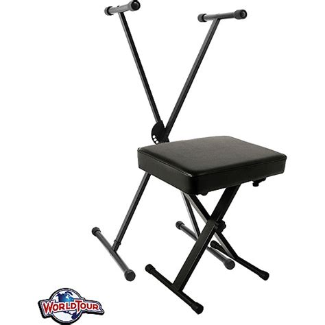 keyboard stand and bench world tour keyboard stand and deluxe padded bench package