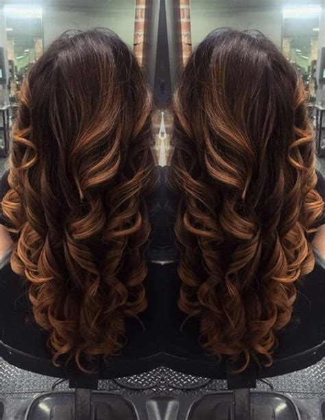 long brown hairstyles with parshall highlight 40 v cut and u cut hairstyles to angle your strands to