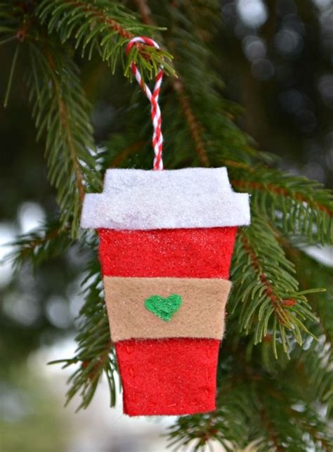 felt coffee cup starbucks ornaments quot popular pins