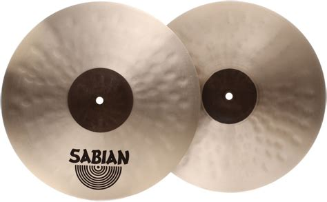 Simbal Sabian Hhx Stage Hats 14 Br sabian hhx stage hi hats 14 quot sweetwater