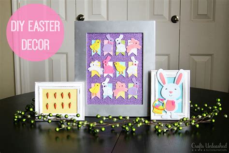 diy spring projects easter decorations diy home decor easter trio