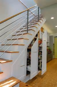 Kitchen Stairs Design 55 Amazing Space Saving Kitchens The Stairs