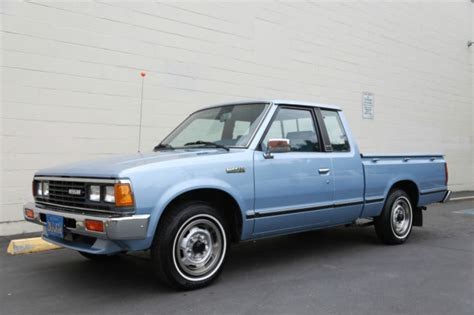 nissan datsun 1984 nissan other extended cab 1984 blue for