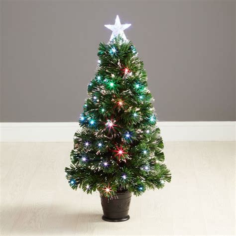 robert dyas westbury fibre optic christmas tree 3ft