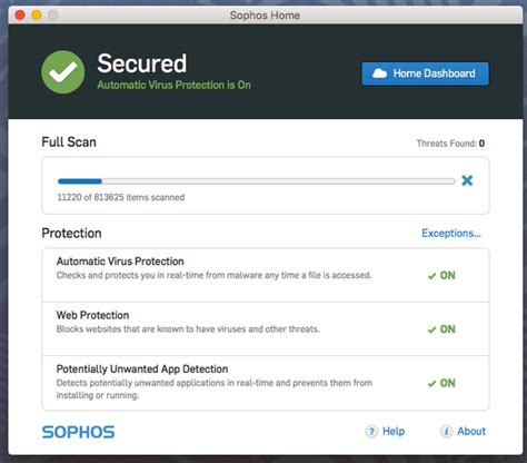 gratis security software sophos home f 252 r privatnutzer