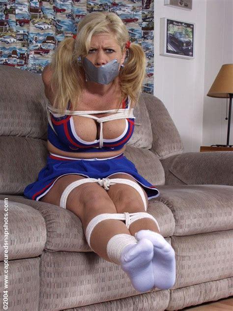 cheerleaders tied up cheerleaders bound and gagged blonde contortionist