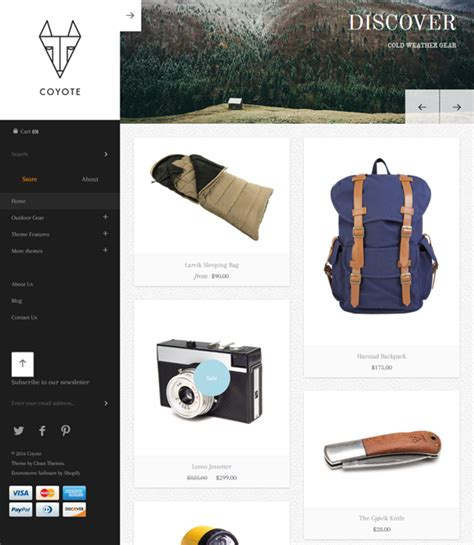 shopify themes masonry 40 of the best clean shopify themes buildify