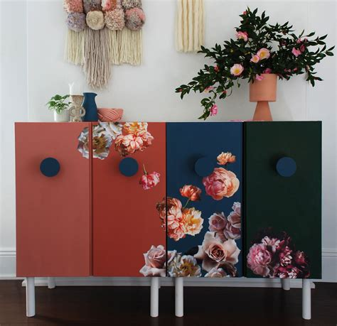 Ikea Flower Curtains Decorating 21 Best Ikea Ivar Storage Hacks
