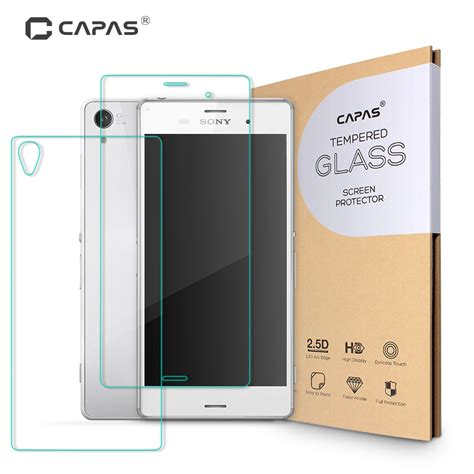 Tempered Glass Fullbody Mimax tempered glass for sony xperia z3 d6603 front
