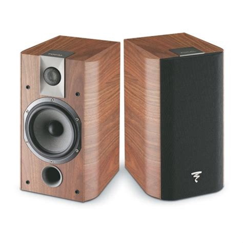 focal ch705 bookshelf speakers walnut west coast hi fi